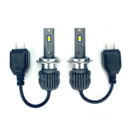 Светодиодные лампы Vizant D20 цоколь H7  CSP 3570 Philips 24W 4400lm 5000k (2 шт.)