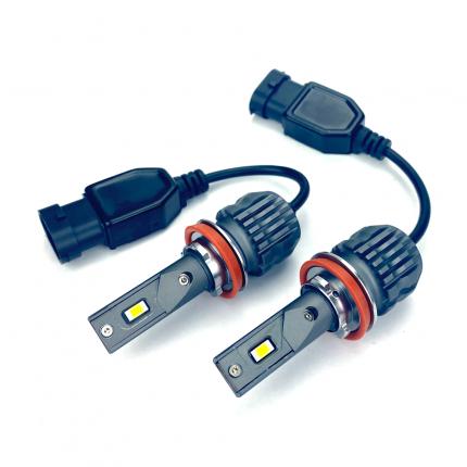 Светодиодные лампы Vizant D20 цоколь H11  CSP 3570 Philips 24W 4400lm 5000k (2 шт.)
