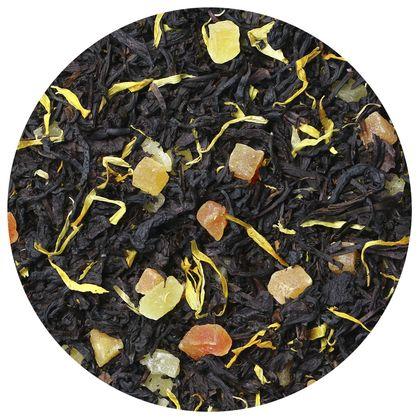 Черный чай Айва с персиком, 100 г