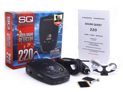 Антирадар Sound Quest SQ 220 Стрелка, обзор 360 град.