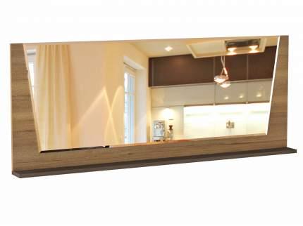 Настенное зеркало Стреза 7 Дуб Галифакс / Бетон Чикаго