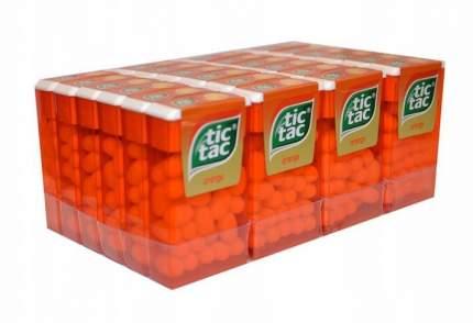 Драже Tic Tac, апельсин, 16 г- блок 24 штуки
