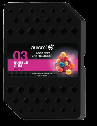 Ароматизатор под сиденье гелевый (bubble gum) AURAMI