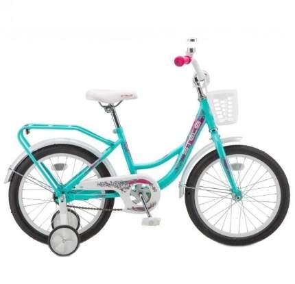 """Детский велосипед Stels Flyte 18"""" Lady бирюзовый 2020"""