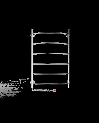 Полотенцесушитель электрический Indigo Arc80/50,проводслева