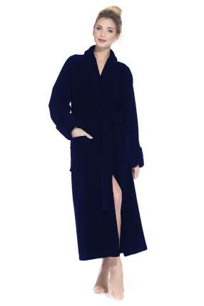 Бамбуковый махровый халат NATUREL (PM 908), цвет синий, размер L (48-50)