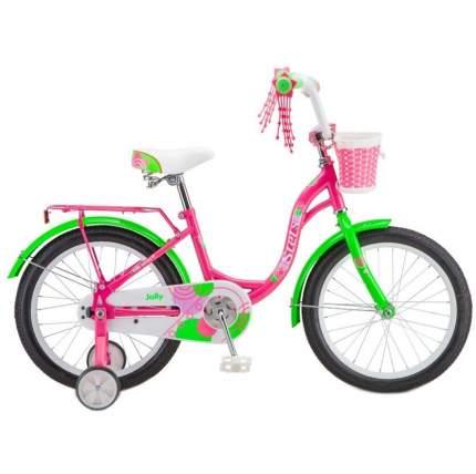 """Детский велосипед Stels Jolly 18"""" V010 2020 розово-зеленый"""