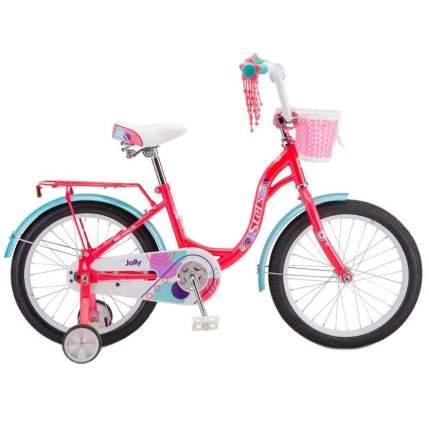 """Детский велосипед Stels Jolly 18"""" V010 2020 розовый"""