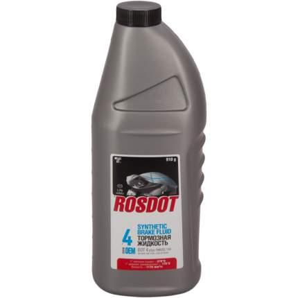 Жидкость тормозная ROSDOT DOT4 455 г 430101H02
