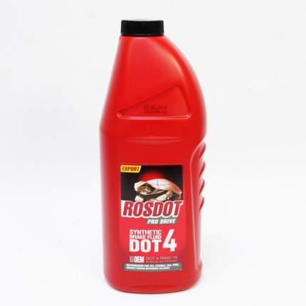 Жидкость тормозная ROSDOT PRO DRIVE DOT4 910 г 430110012
