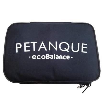 Игровой набор EcoBalance Петанк золотой/серебряный