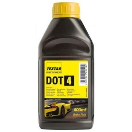 Жидкость тормозная TEXTAR Brake Fluid DOT4 0,5 л 95006100