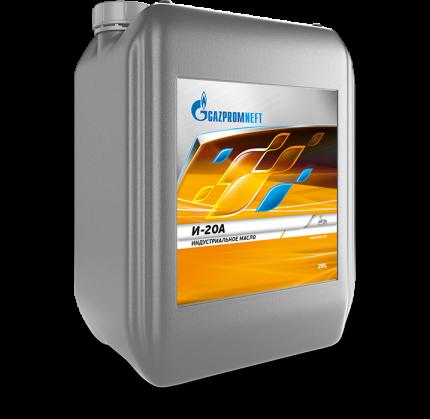 Масло веретенное Gazpromneft И-20А 5 л 2389902412