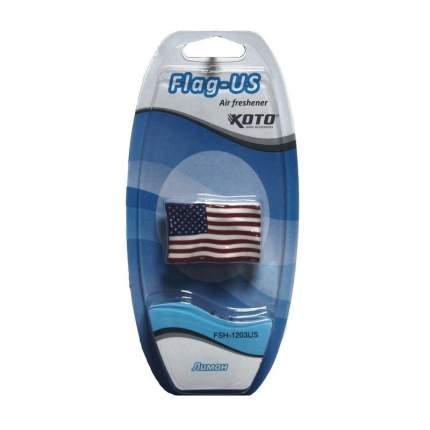 Ароматизатор воздуха KOTO FSH-1203US Flag US (Лимон)