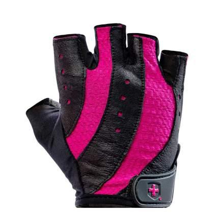 Перчатки атлетические Harbinger Pro, black/pink, 7/M