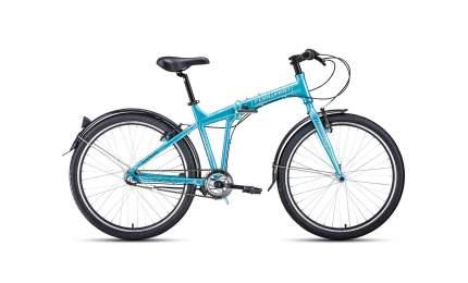 "Велосипед Forward Tracer 26 3.0 Disc 2020 18"" dodger blue/white"