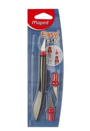 Нож-скальпель безопасный Maped Easy Cut с 3 лезвиями