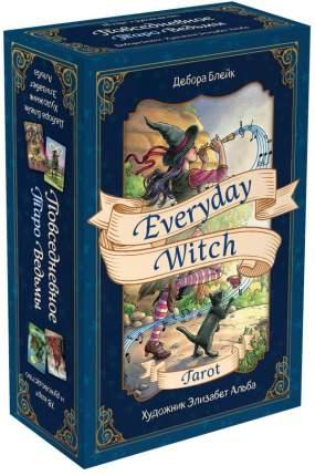 Карты Everyday Witch Tarot. Повседневное Таро ведьмы 78 карт и руководство в подарочном...