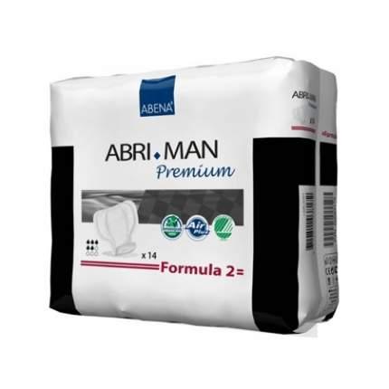 Мужские урологические прокладки Abena Abri-Man Formula 2, 14 шт.