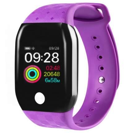 Часы GSMIN A88+ (2019) с измерением давления и пульса (Фиолетовый)