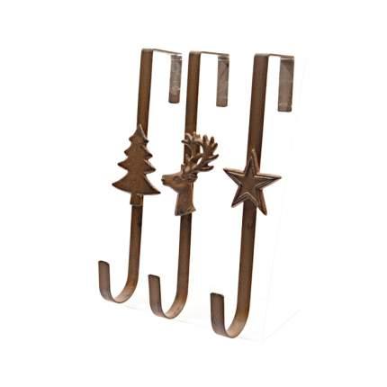 Kaemingk Крючок дверной для рождественских венков 29 см коричневый 388911