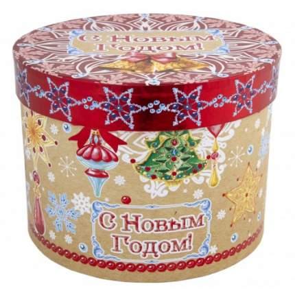 """Коробка подарочная """"Новогодние колокольчики"""", 18х18х14 см"""
