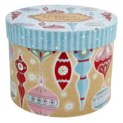 """Коробка подарочная """"Стеклянные сосульки"""", 18х18х14 см"""