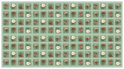 Бумага для упаковки подарков и скрапбукинга (красная)