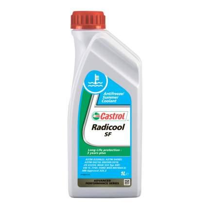 Антифриз Castrol Radicool SF G12+ красный концентрат 1л