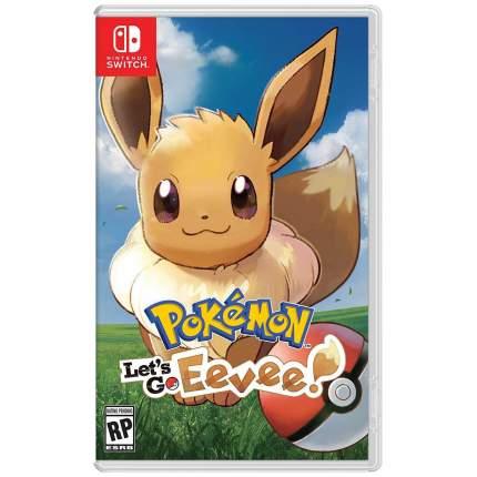 Игра Pokemon Lets Go Eevee для Nintendo Switch