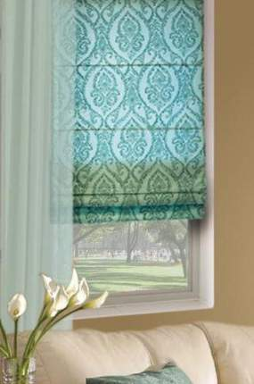 Римские шторы Eskar 13347080160 зеленый 160х8