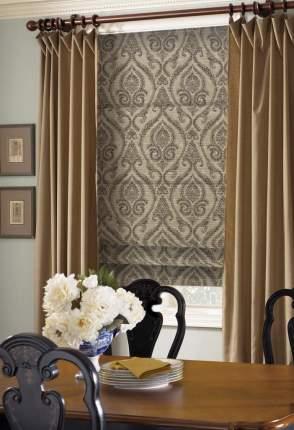 Римские шторы Eskar 13348100160 коричневый 160х6