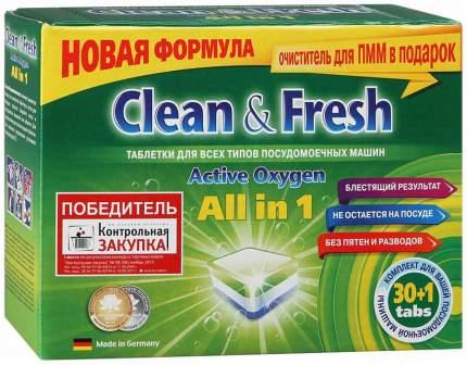 Моющее средство для посудомоечной машины Clean&Fresh 3029227