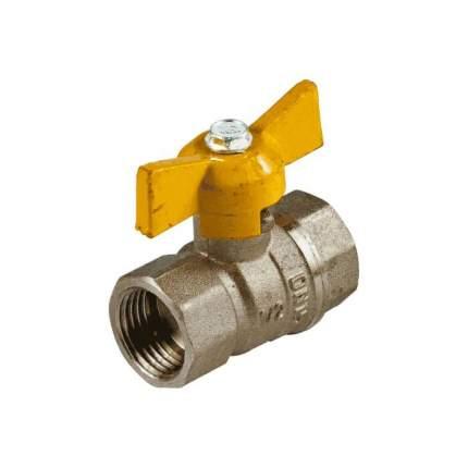 Кран шаровой латунь газ Стандарт 230 аналог 11б27п Ду15 Ру16 ВР полнопр ГАЛЛОП 116012