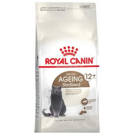 Сухой корм для кошек ROYAL CANIN Senior Ageing Sterilised 12+, для пожилых, 4кг