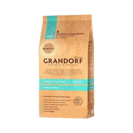 Сухой корм для собак Grandorf Living Probiotics Adult, мясо, рис, 12кг