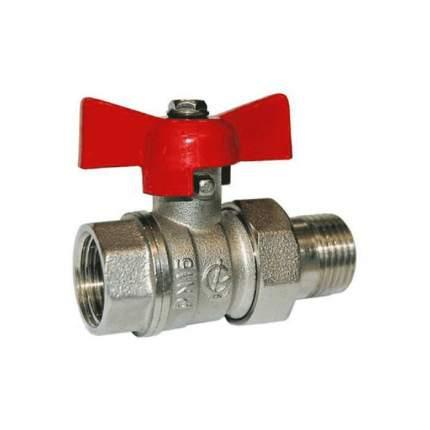 Кран шаровой лат никель Стандарт 232 аналог 11б27п1 Ду15 ВР/америк полнопр ГАЛЛОП 103168