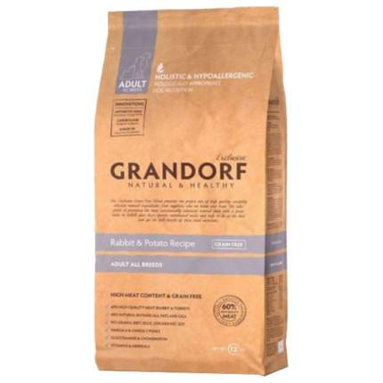 Сухой корм для собак Grandorf Adult All Breeds, кролик, 12кг