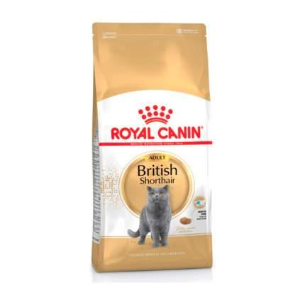 Сухой корм для кошек ROYAL CANIN British Shorthair, британская, домашняя птица, 4кг