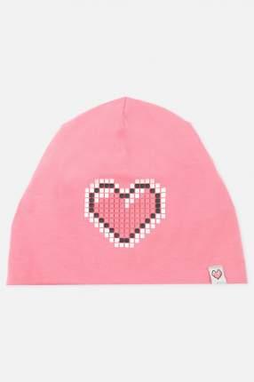 Шапка PlayToday для девочек, цв. розовый, р-р 50