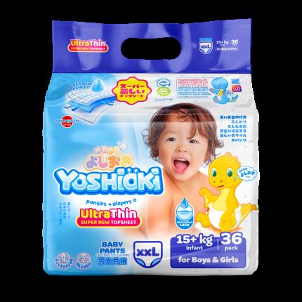 Трусики-подгузники Ultra-Thin YOSHIOKI XXL 15+ кг 36 шт