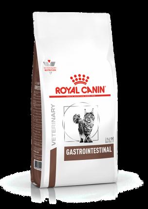 Сухой корм для кошек ROYAL CANIN Gastro Intestinal, при острых расстройствах ЖКТ, 2кг