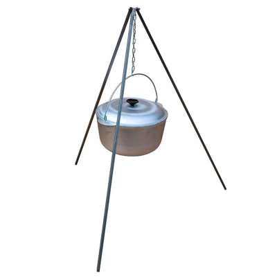 Тренога костровая ИнвентГрупп (нержавеющая сталь) 1000мм в чехле (профиль-уголок 20х20мм)