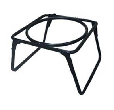 Костровая подставка для казана №3 (столик с отверстием и складными ножками) в чехле Риф