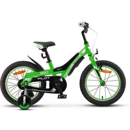 """Велосипед Stels Pilot 180 2020 10"""" зеленый"""