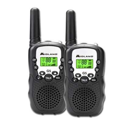 Портативная радиостанция Midland G5 Black
