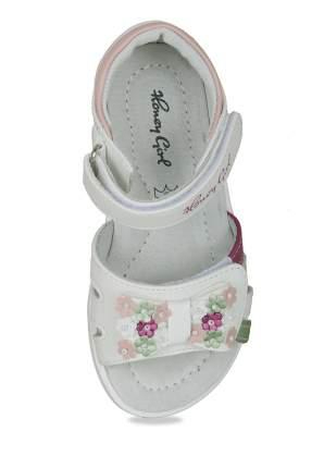 Сандалии для девочек Honey Girl, цв. белый, р-р 26
