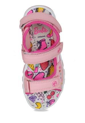 Сандалии для девочек Barbie, цв. розовый, р-р 26
