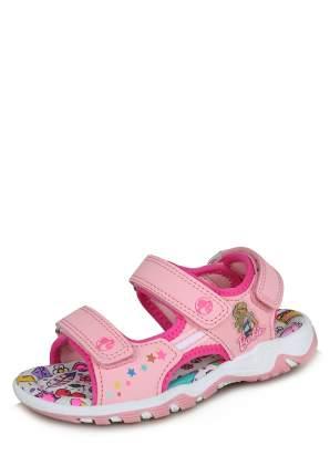 Сандалии детские Barbie, цв. розовый р.29