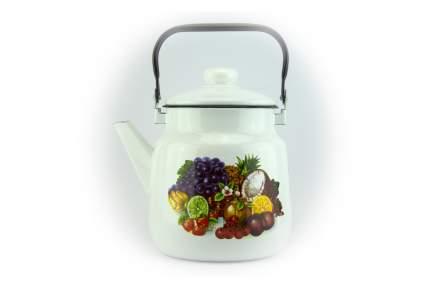 Чайник 3,5л Фрукты-овал-Г